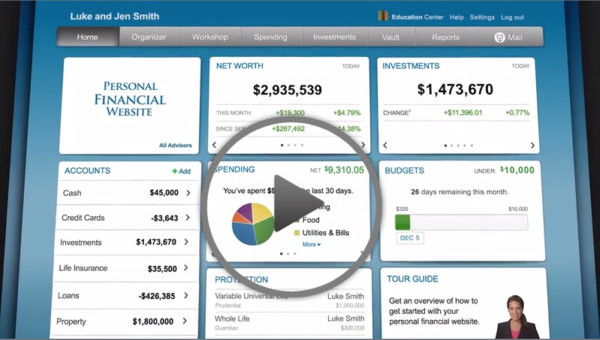 YOUR FINANCIAL DASHBOARD